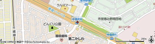 恵み野南1周辺の地図