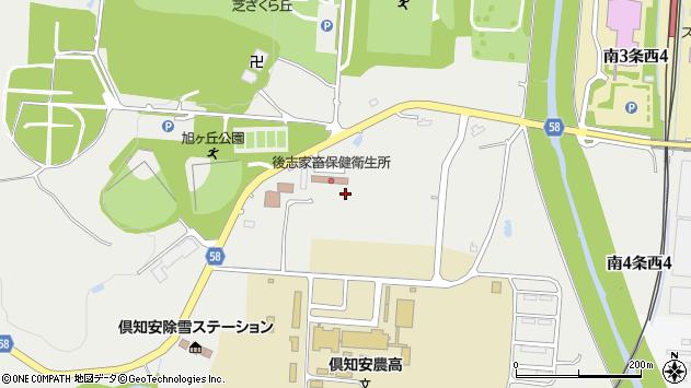 〒044-0083 北海道虻田郡倶知安町旭の地図