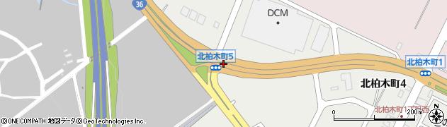北柏木町4周辺の地図