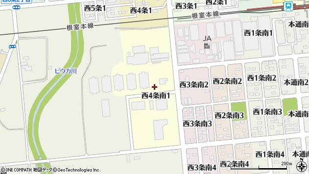 〒082-0064 北海道河西郡芽室町西四条南の地図