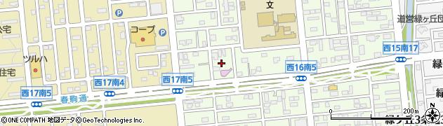 まねきねこ帯広店周辺の地図
