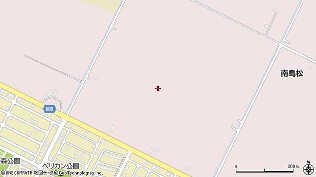 〒061-1375 北海道恵庭市南島松の地図
