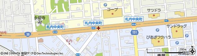 札内豊町周辺の地図