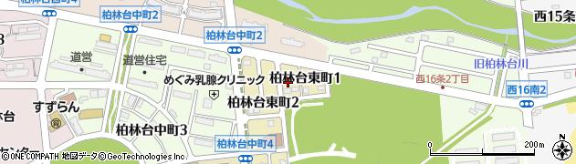 北海道帯広市柏林台東町周辺の地図