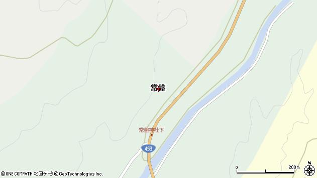 〒005-0863 北海道札幌市南区常盤(その他)の地図