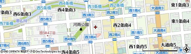 カーサーインホテル帯広周辺の地図