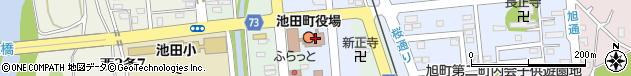 北海道中川郡池田町周辺の地図