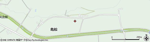 北海道北広島市島松周辺の地図