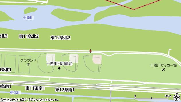 〒080-0813 北海道帯広市東十三条南の地図