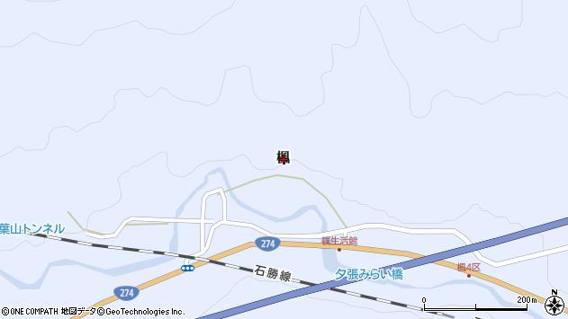 〒068-0754 北海道夕張市楓の地図