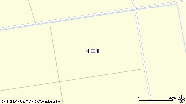 〒069-1143 北海道夕張郡由仁町中三川の地図