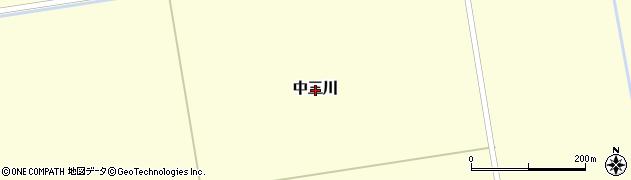 北海道由仁町(夕張郡)中三川周辺の地図