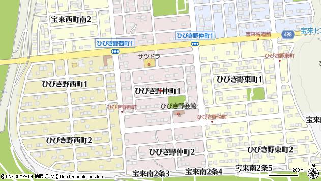 〒080-0162 北海道河東郡音更町ひびき野仲町の地図