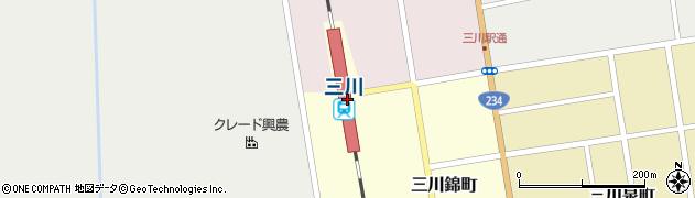 北海道夕張郡由仁町周辺の地図