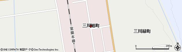 北海道由仁町(夕張郡)三川旭町周辺の地図