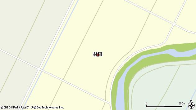 〒061-1361 北海道恵庭市林田の地図