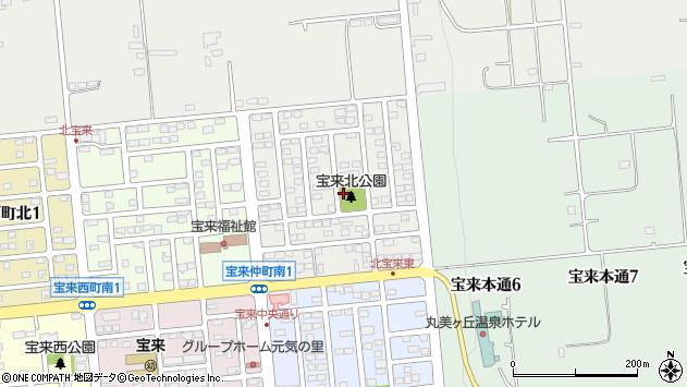 〒080-0133 北海道河東郡音更町宝来東町北の地図