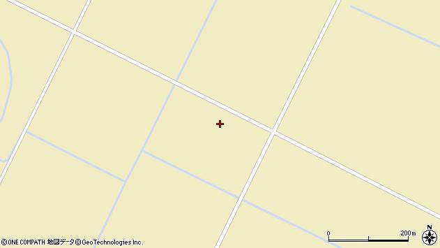 〒069-1456 北海道夕張郡長沼町東6線南の地図