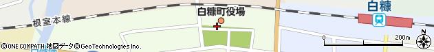 北海道白糠郡白糠町周辺の地図