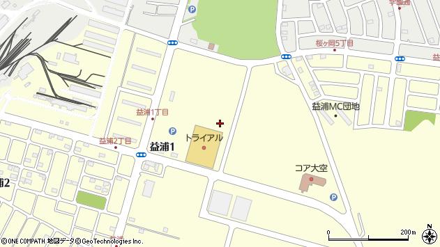 〒085-0803 北海道釧路市益浦の地図