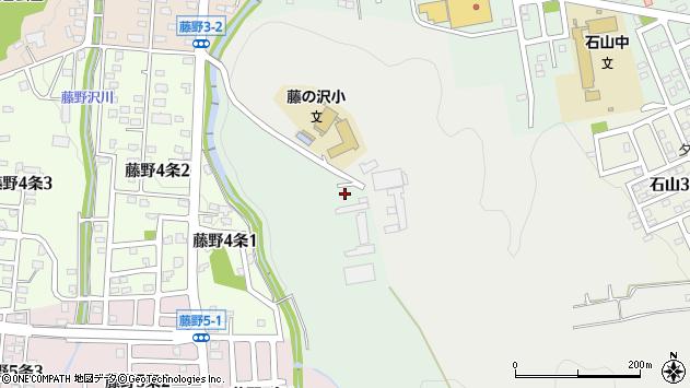 〒005-0840 北海道札幌市南区藤野400-2番地の地図