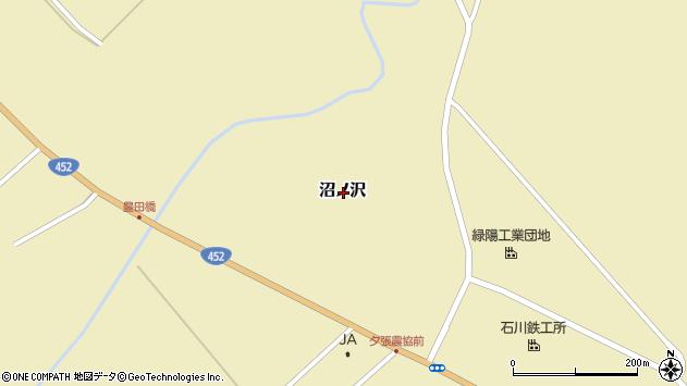 〒068-0751 北海道夕張市沼ノ沢の地図
