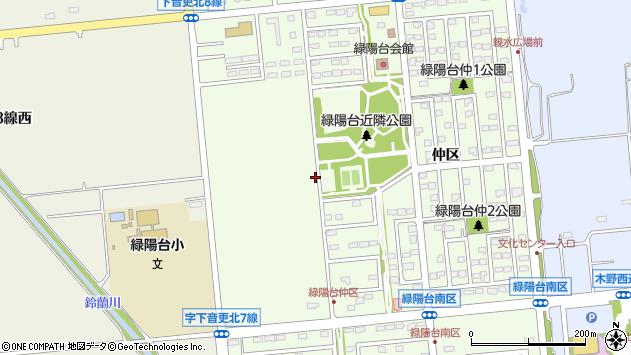 〒080-0317 北海道河東郡音更町緑陽台仲区の地図