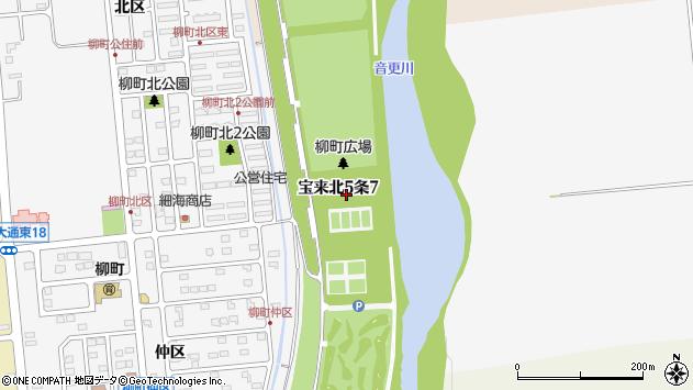 〒080-0145 北海道河東郡音更町宝来北五条の地図