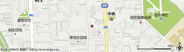 やまもと美容室周辺の地図