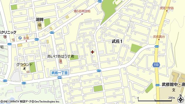 〒085-0806 北海道釧路市武佐の地図