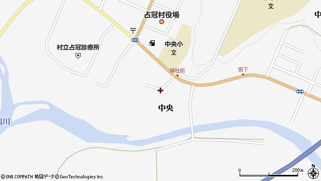 〒079-2201 北海道勇払郡占冠村中央の地図