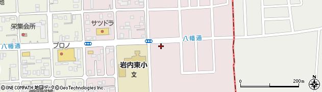 セイコーマート岩内東山店周辺の地図