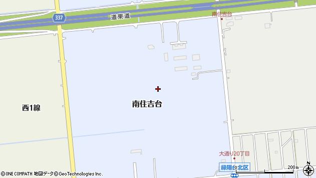 〒080-0324 北海道河東郡音更町南住吉台の地図