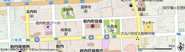 北海道岩内町(岩内郡)周辺の地図
