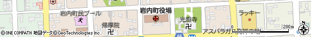 北海道岩内郡岩内町周辺の地図