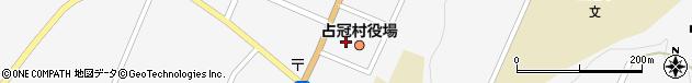 北海道勇払郡占冠村周辺の地図