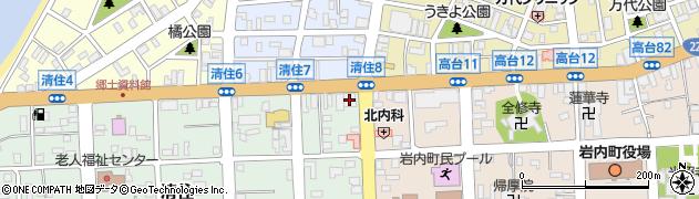 北海道信用金庫岩内支店周辺の地図