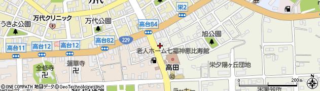 いしだ美容室周辺の地図