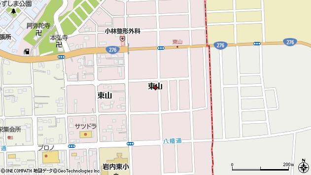 〒045-0002 北海道岩内郡岩内町東山の地図