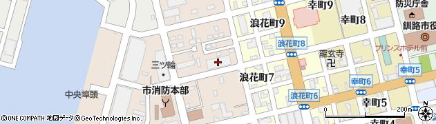 日本通運周辺の地図