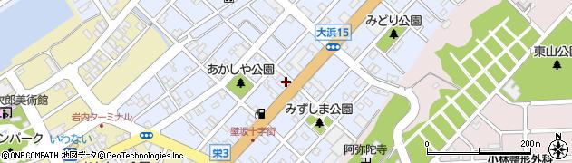 建設業協同組合周辺の地図