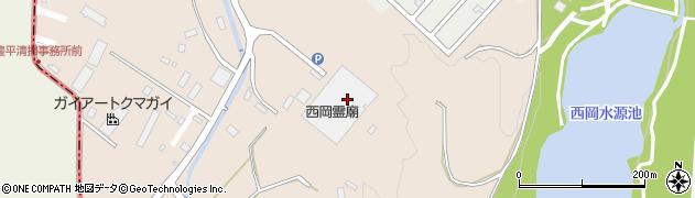 北海道札幌市豊平区西岡周辺の地図