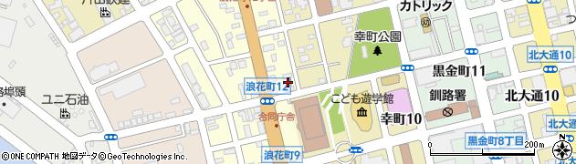 富士マンション浪花周辺の地図