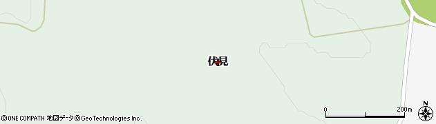 北海道由仁町(夕張郡)伏見周辺の地図