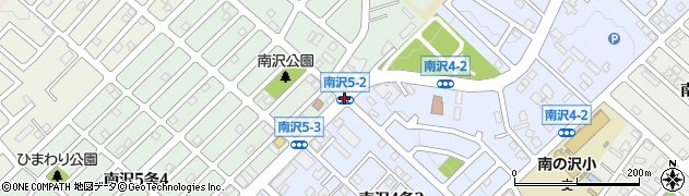 南沢5‐2周辺の地図