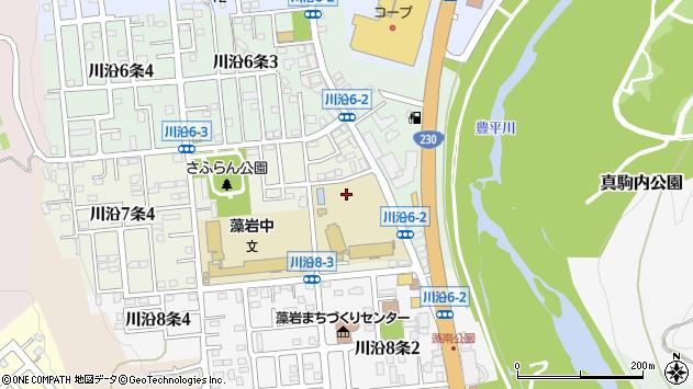 〒005-0807 北海道札幌市南区川沿七条の地図