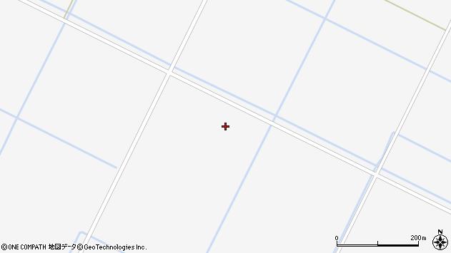 〒069-1485 北海道夕張郡長沼町30区の地図