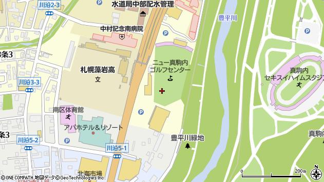 〒005-0803 北海道札幌市南区川沿三条の地図