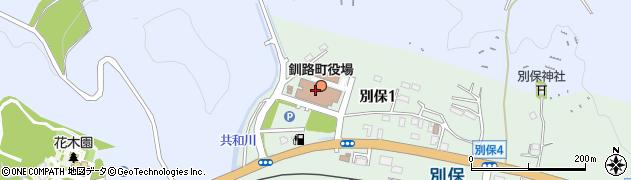 北海道釧路町(釧路郡)周辺の地図