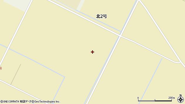 〒069-1313 北海道夕張郡長沼町13区の地図